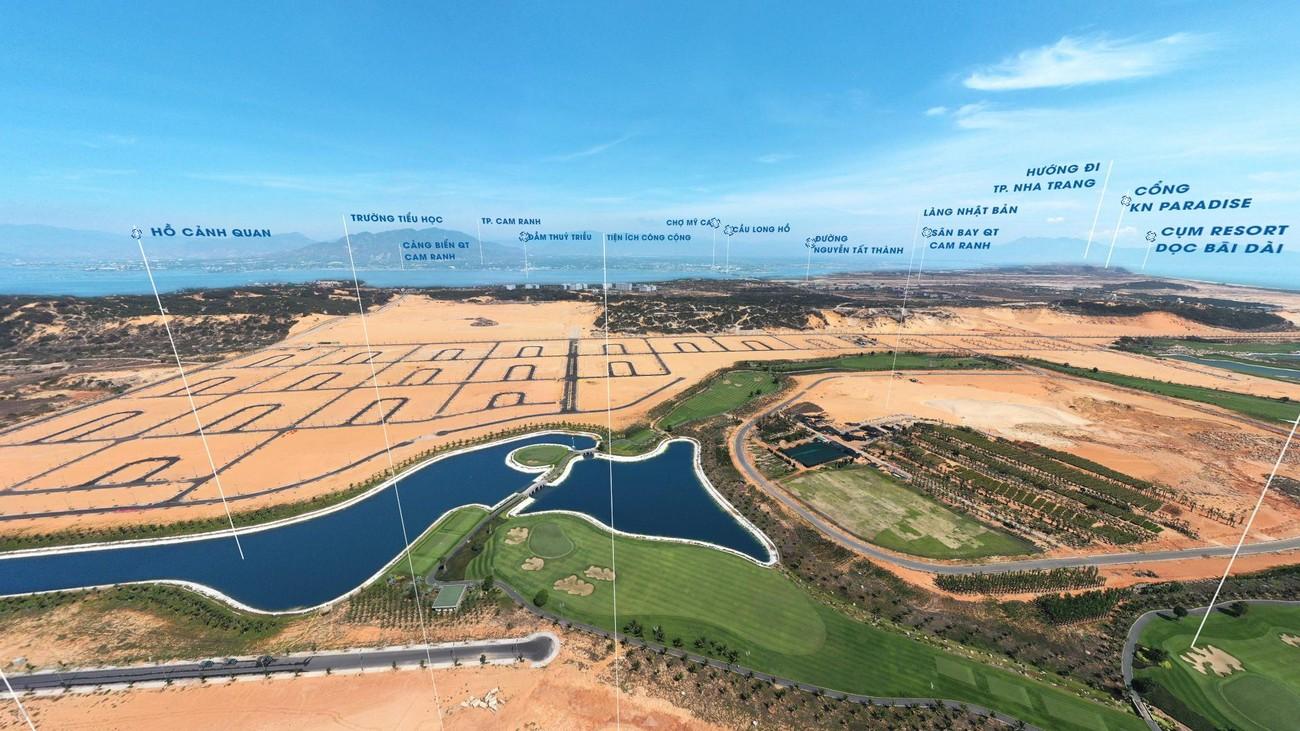 Tiến độ xây dựng dự án KN Paradise Cam Ranh Khánh Hòa 06/07/2020