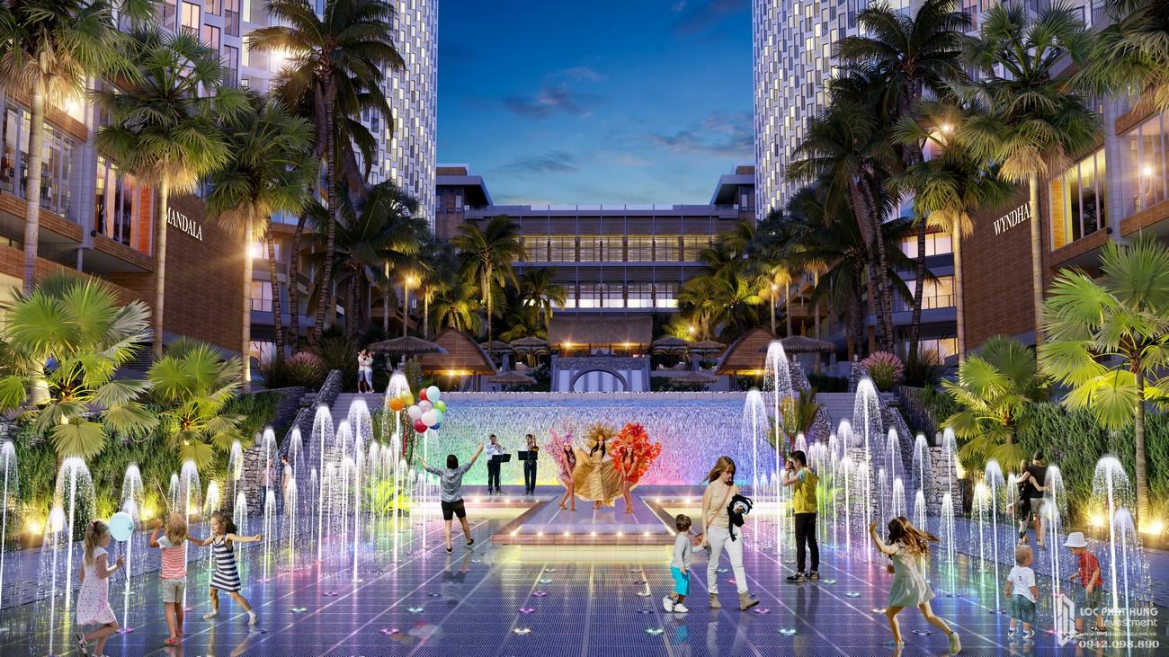Tiện ích dự án Condotel Apec Mandala Wyndham Mũi Né Phan Thiết Đường DT716 chủ đầu tư Tập đoàn Apec