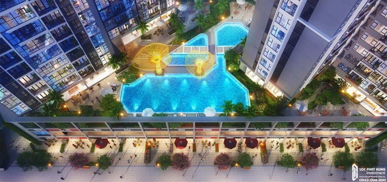 Sky Pool căn hộ chung cư Lavita Thuận An Đường Quốc lộ 13 chủ đầu tư Quốc Cường Gia Lai
