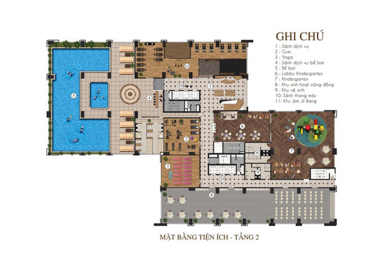 Tiện ích dự án căn hộ chung cư Apec Golden Palace Lạng Sơn đường Lê Đại Hành chủ đầu tư Apec Group
