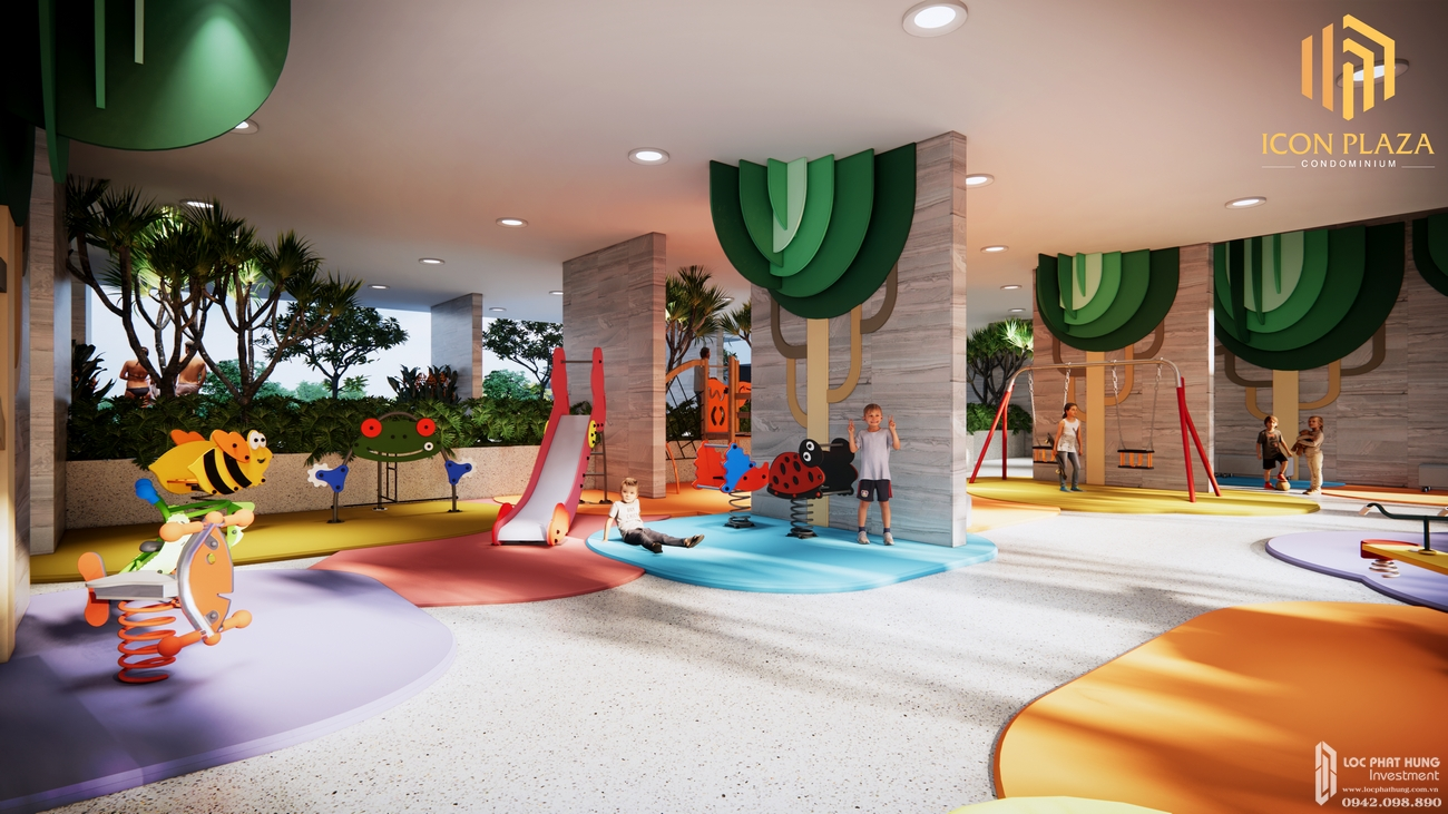Tiện ích dự án căn hộ chung cư Icon Plaza Thuan An Đường Vòng Xoay An Phú chủ đầu tư Danh Việt Group