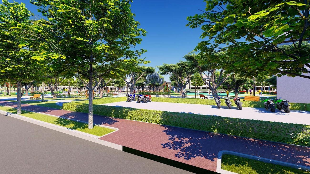 Tiện ích dự án nhà phố Valerich Nhơn Trạch Đồng Nai