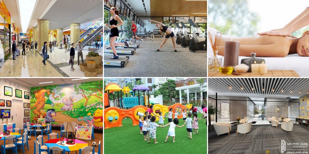 Tiện ích nội khu dự án căn hộ chung cư Icon Plaza Bình Dương chủ đầu tư Phú Hồng Thịnh