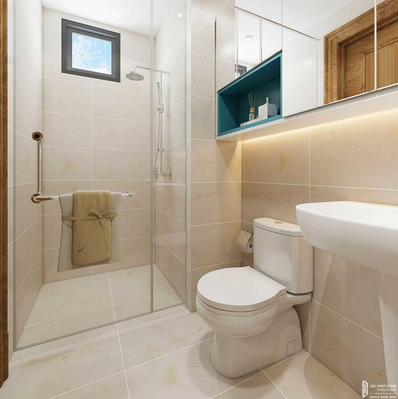 Nhà vệ sinh căn hộ Icon Plaza Thuận An Bình Dương