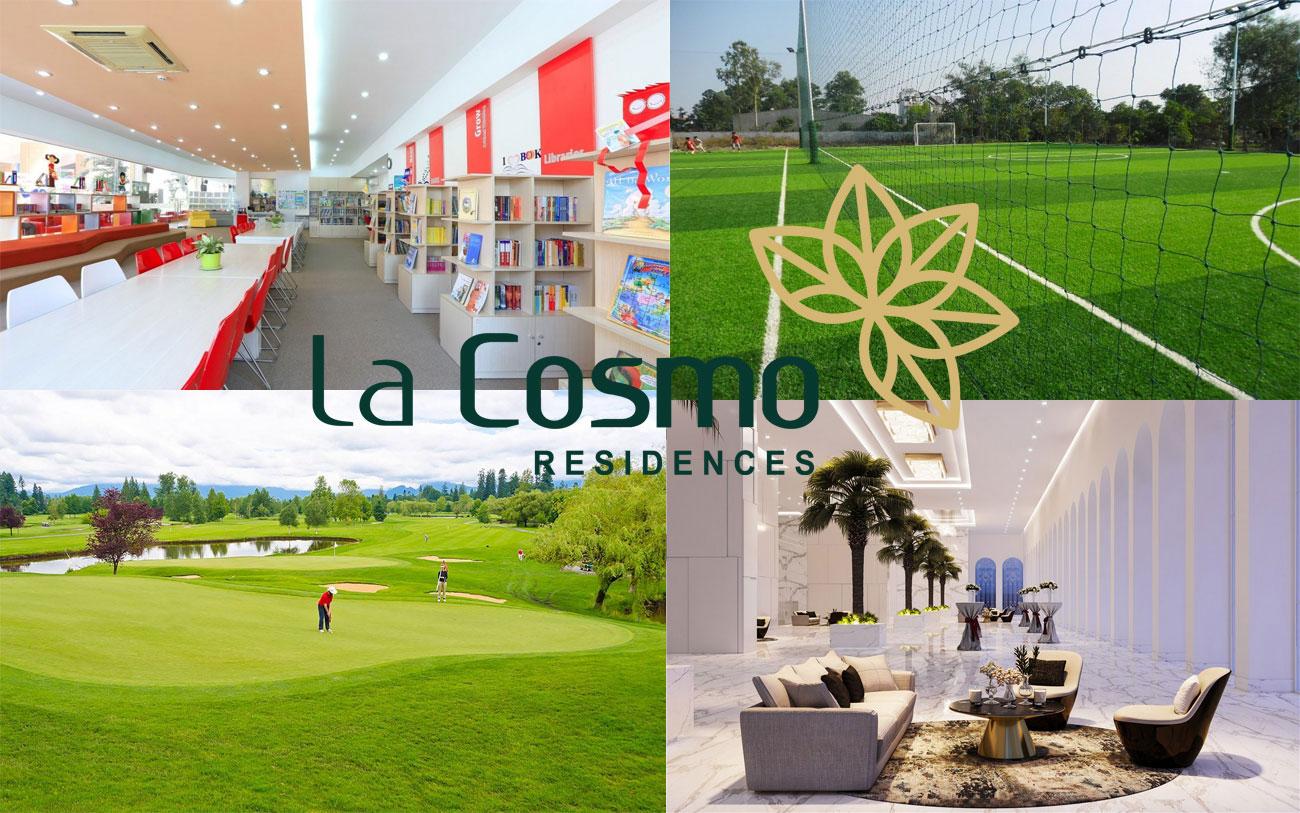 Vị trí La Cosmo Residences trung tâm của sự kết nối