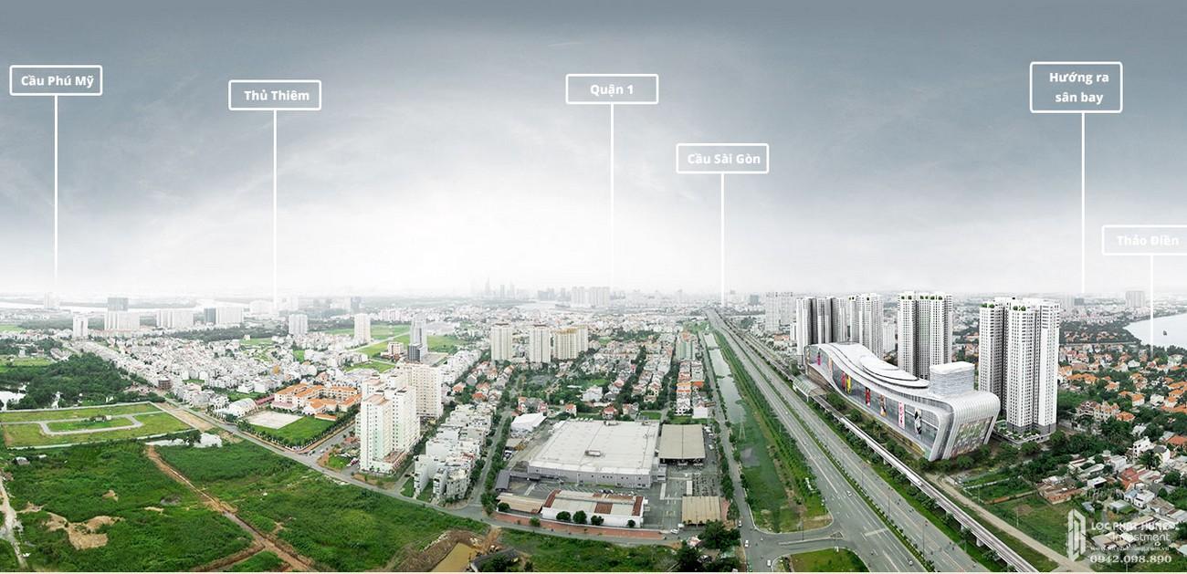 Vị trí địa chỉ dự án căn hộ chung cư Masterise Homes quận 2 chủ đầu tư Masterise Group