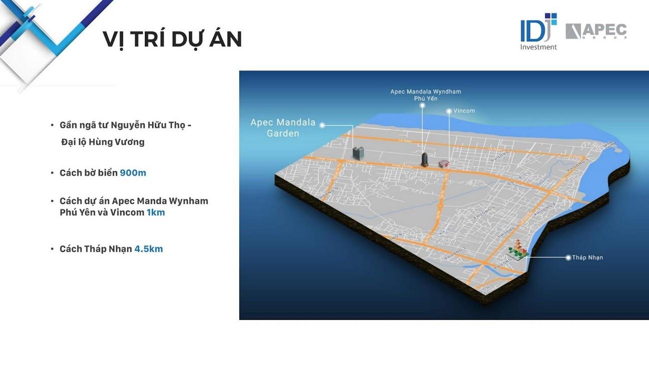 Vị trí địa chỉ dự án căn hộ condotel Apec Mandala Wyndham Phú Yên chủ đầu tư Apec
