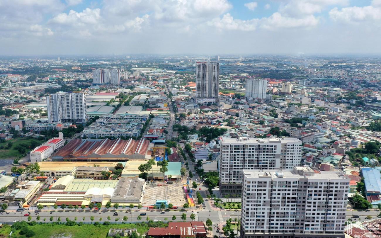 """Bất động sản Dĩ An hưởng lợi mạnh mẽ từ đề án thành lập """"Thành phố phía Đông"""""""