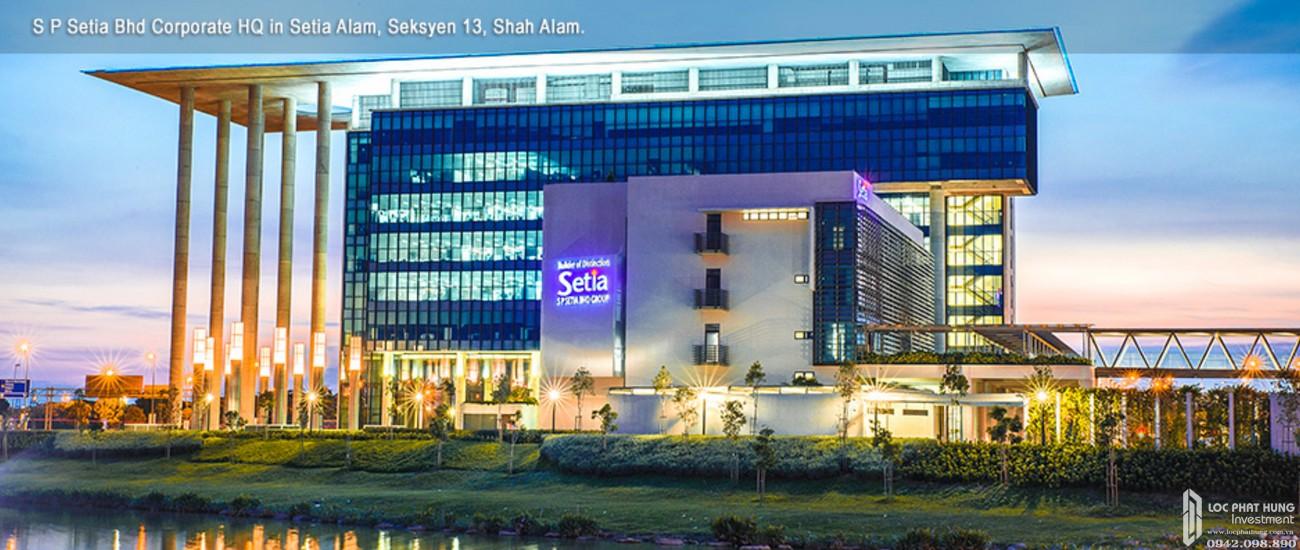 Chủ đầu tư dự án Căn Hộ chung cư Eco Xuân Lái Thiêu Đường Quốc Lộ 13 chủ đầu tư SP Setia Malaysia