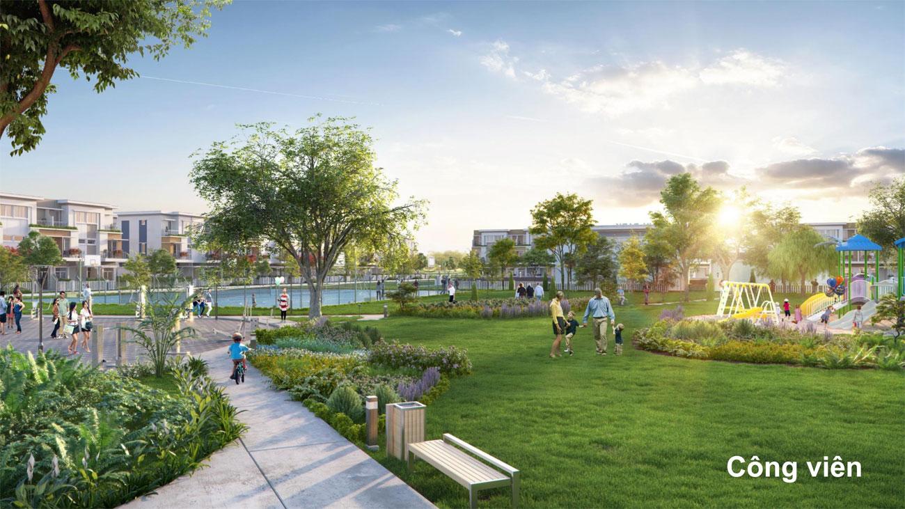 Tiện ích dự án nhà phố Lovera Premier Khang Điền Bình Chánh