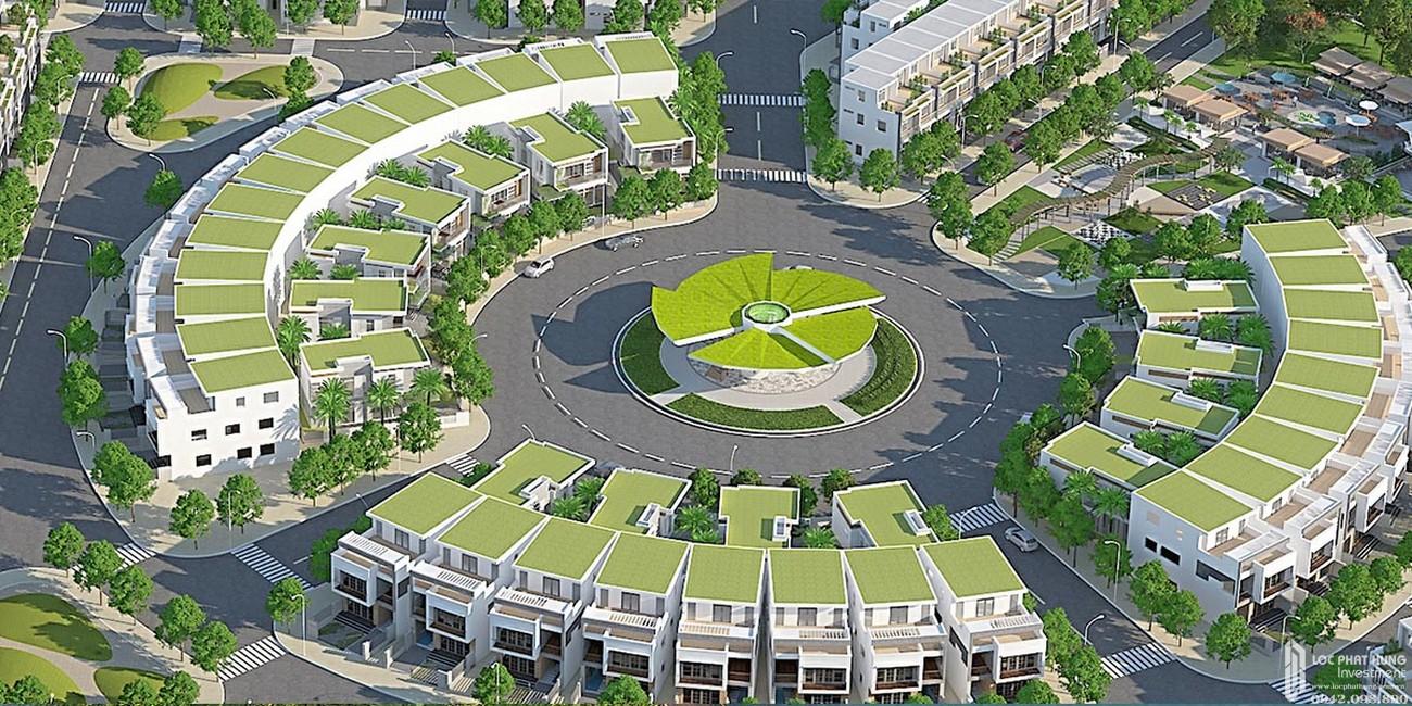 Đài vọng cảnh dự án đất nền Saigon Riverpark Cần Giuộc Đường Quốc lộ 50 chủ đầu tư Tân Phú Thịnh