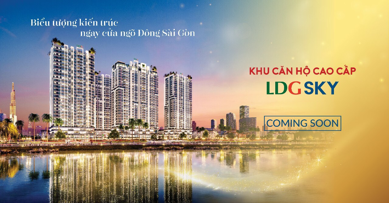 Lễ công bố dự án căn hộ chung cư LDG Sky Bình Dương