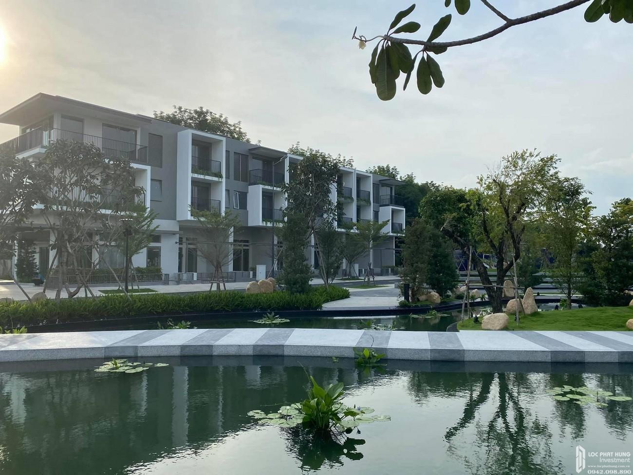 Hình ảnh thực tế tiến độ dự án nhà phố The Standard Central ParkBình Dương chủ đầu tư An Gia