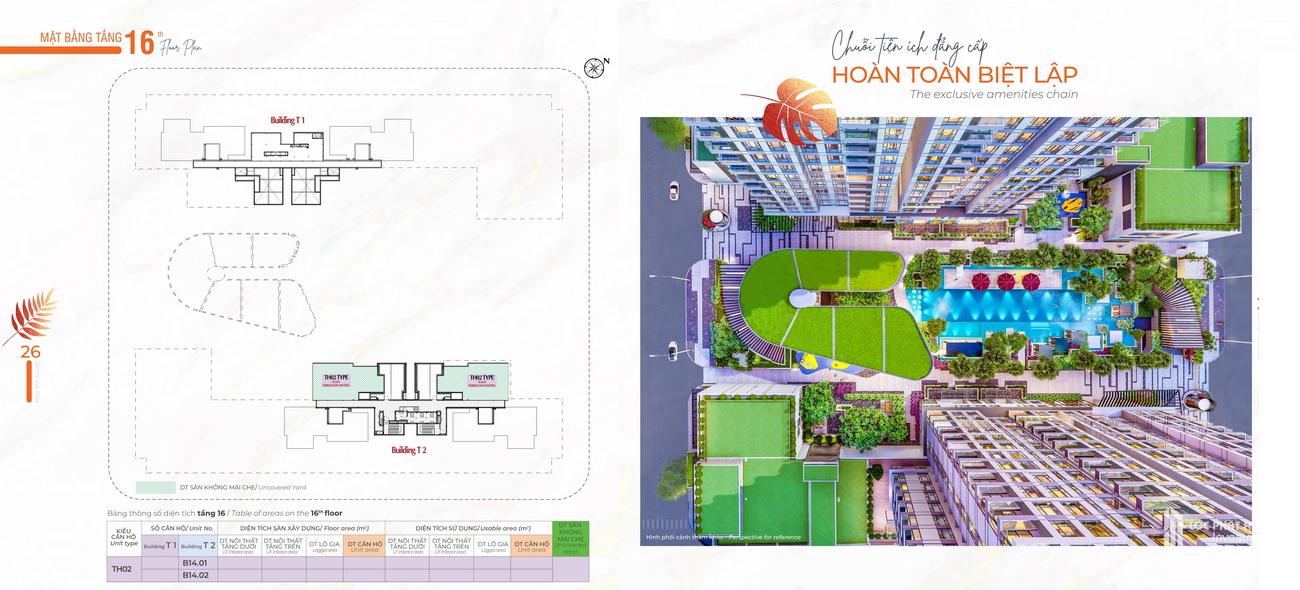Mặt bằng dự án căn hộ chung cư Cardinal Court  Quận 7 Đường Raymondienne chủ đầu tư Phú Mỹ Hưng
