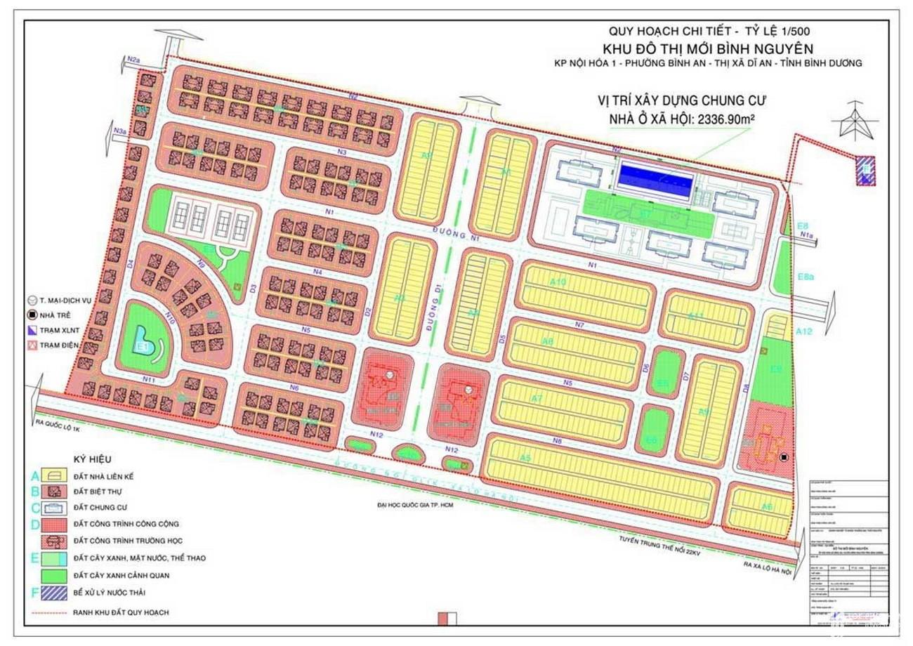 Mặt bằng tổng thể dự án căn hộ chung cư LDG Sky Bình Dương chủ đầu tư LDG Group