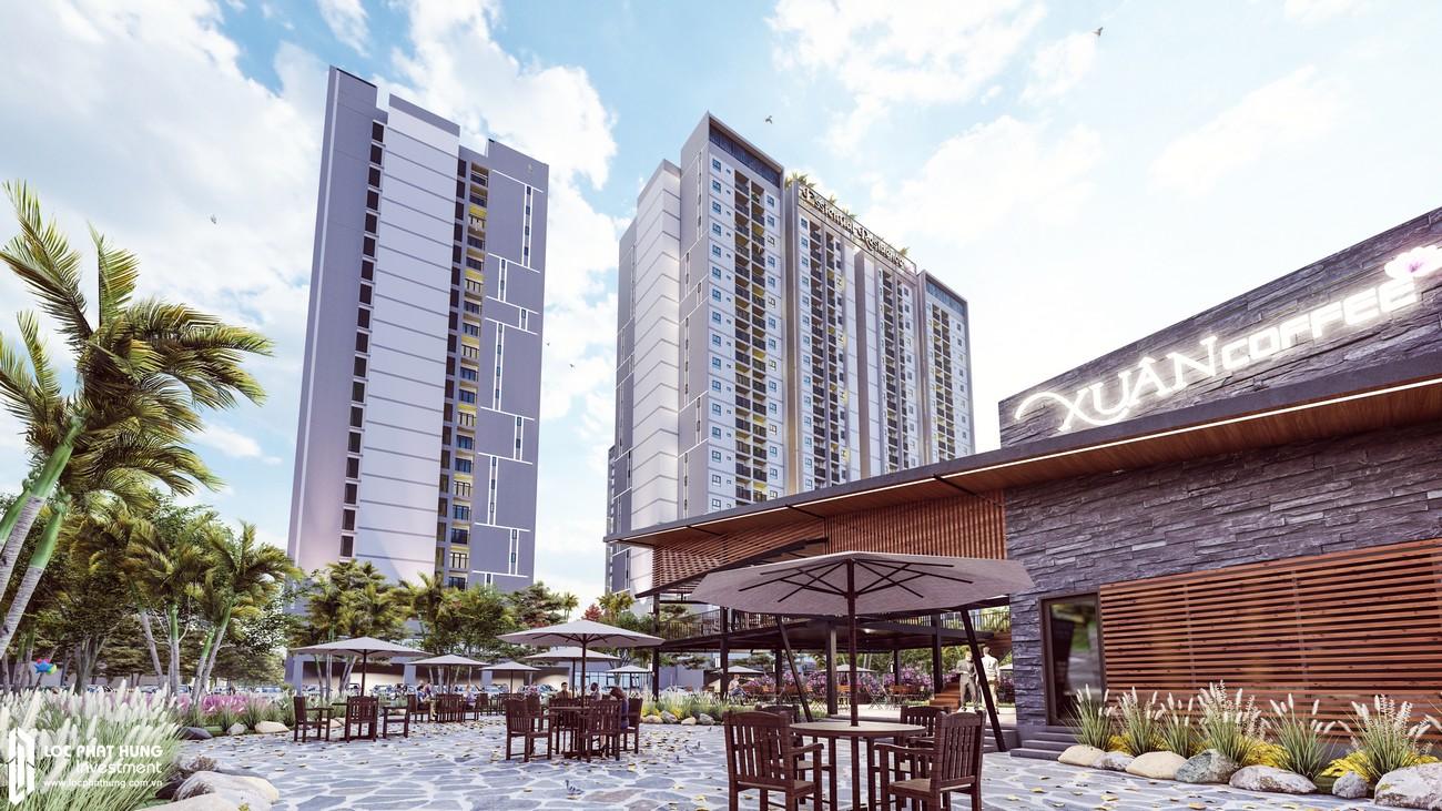 Cổng chính dự án căn hộ chung cư EcoXuan Lái Thiêu Bình Dương