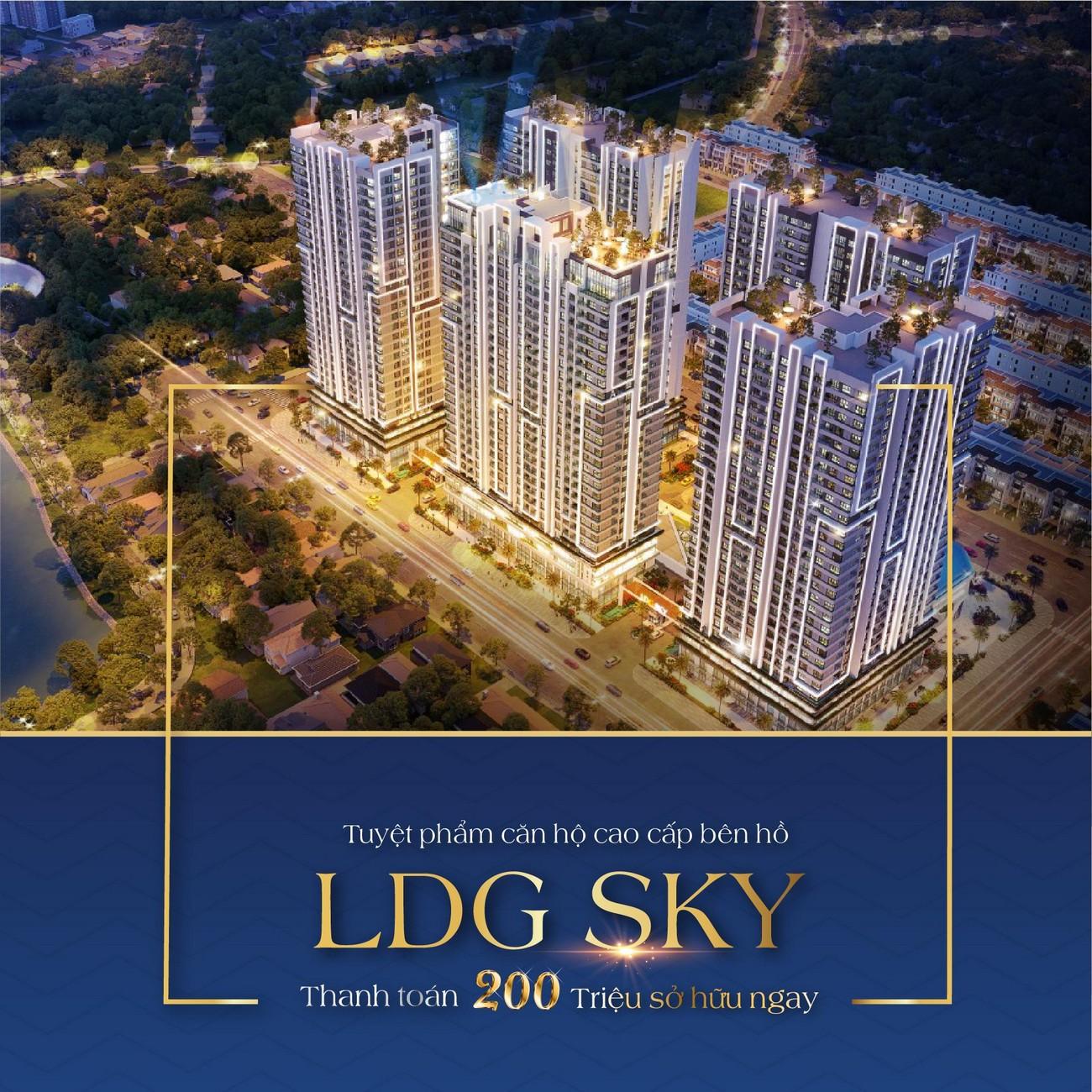 Cơ hội mua nhà dự án căn hộ chung cư LDG Sky TP Dĩ An Tỉnh Bình Dương thật dễ dàng