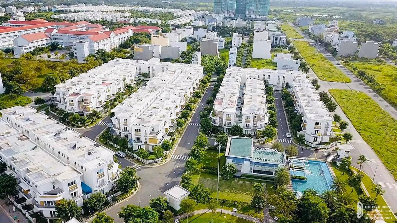 Phối cảnh tổng thể dự án nhà phố Lovera Premier