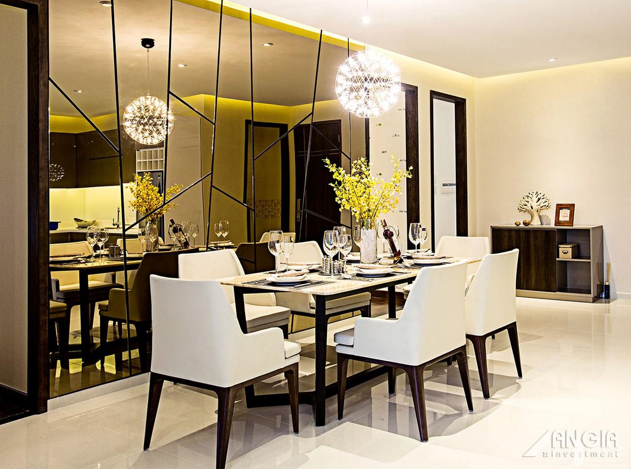 Nhà mẫu căn hộ 112m2 dự án căn hộ chung cư An Gia Skyline Quận 7 Đường Hoàng Quốc Việt chủ đầu tư An Gia