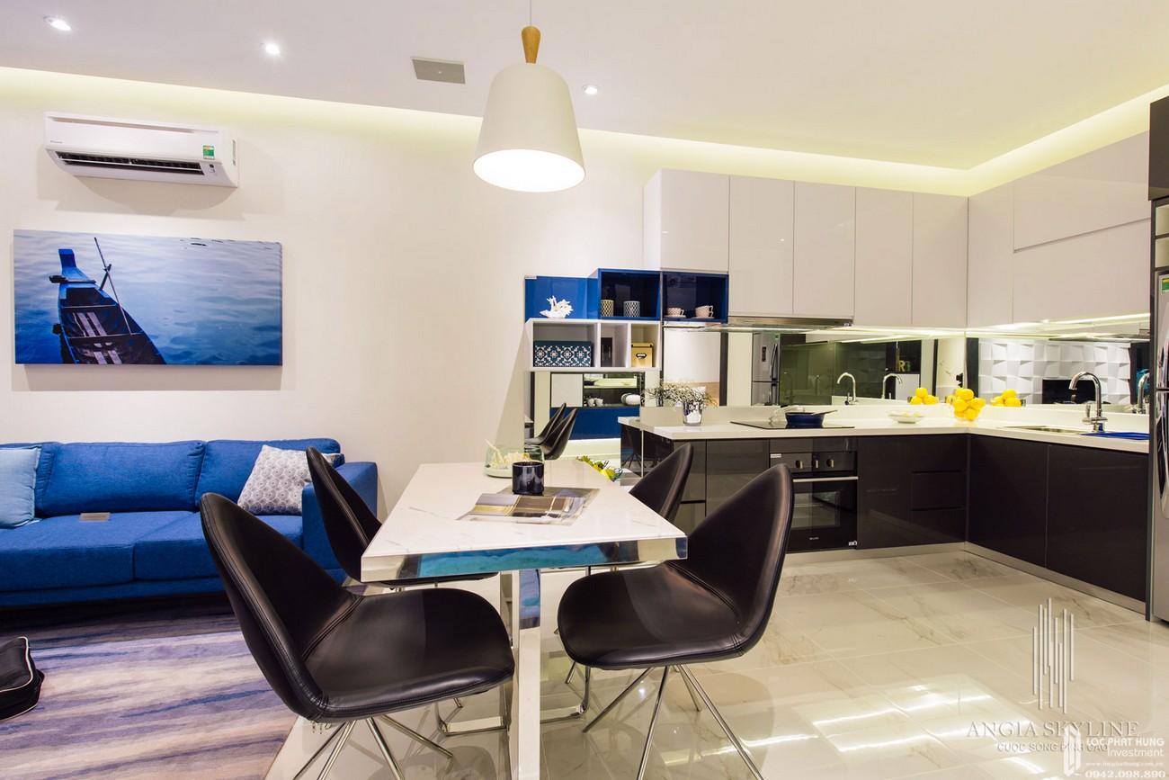 Nhà mẫu dự án căn hộ chung cư Skyline Quận 7 Đường Hoàng Quốc Việt chủ đầu tư An Gia