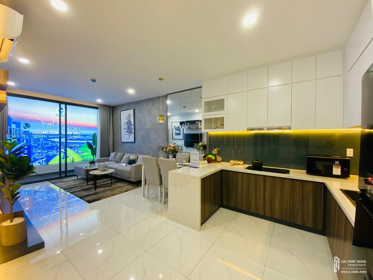 Tiến độ dự án căn hộ chung cư C Skyview Bình Dương Đường Trần Phú chủ đầu tư Quốc Cường Chánh Nghĩa