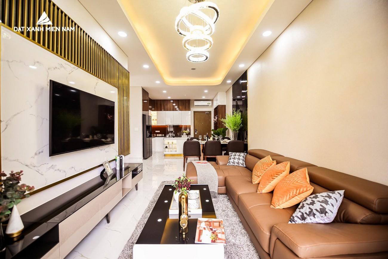 Nhà mẫu dự án căn hộ 3 phòng ngủ LDG Sky Bình Dương