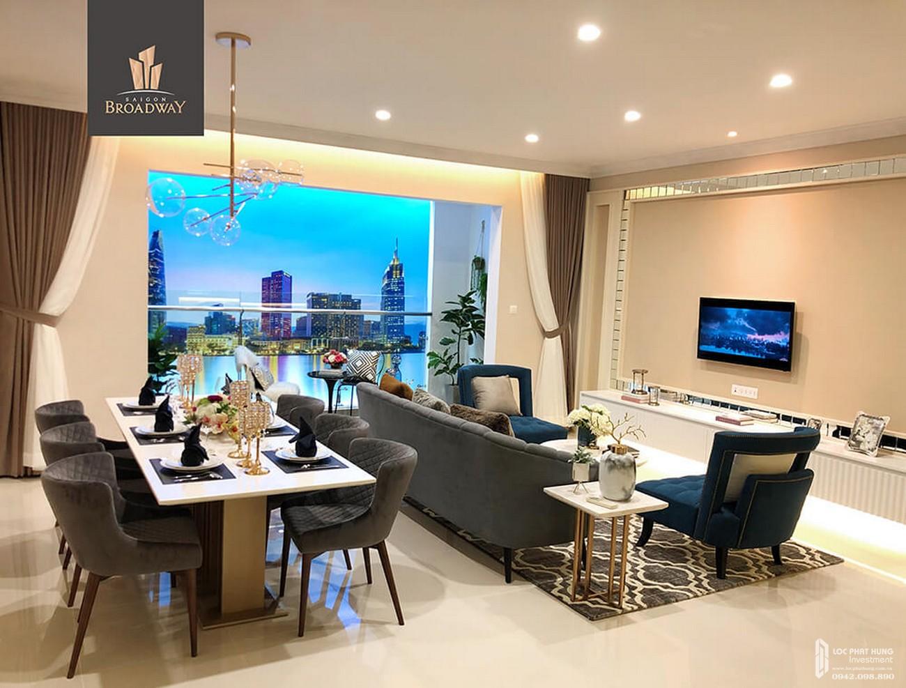 Nhà mẫu dự án căn hộ chung cư Sài Gòn Broadway Quận 2 Đường  Mai Chí Thọ chủ đầu tư Novaland