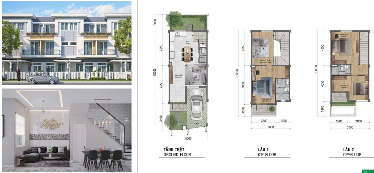 Thiết kế chi tiết dự án nhà phố Lovera Premier chủ đầu tư Khang Điền Bình Chánh