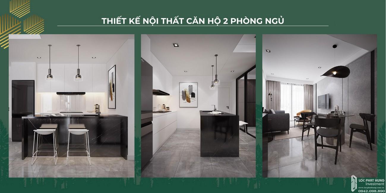 Nội thất dự án căn hộ chung cư Anderson Park Thuận An Đường Quốc lộ 13 chủ đầu tư Quốc Cường Gia Lai