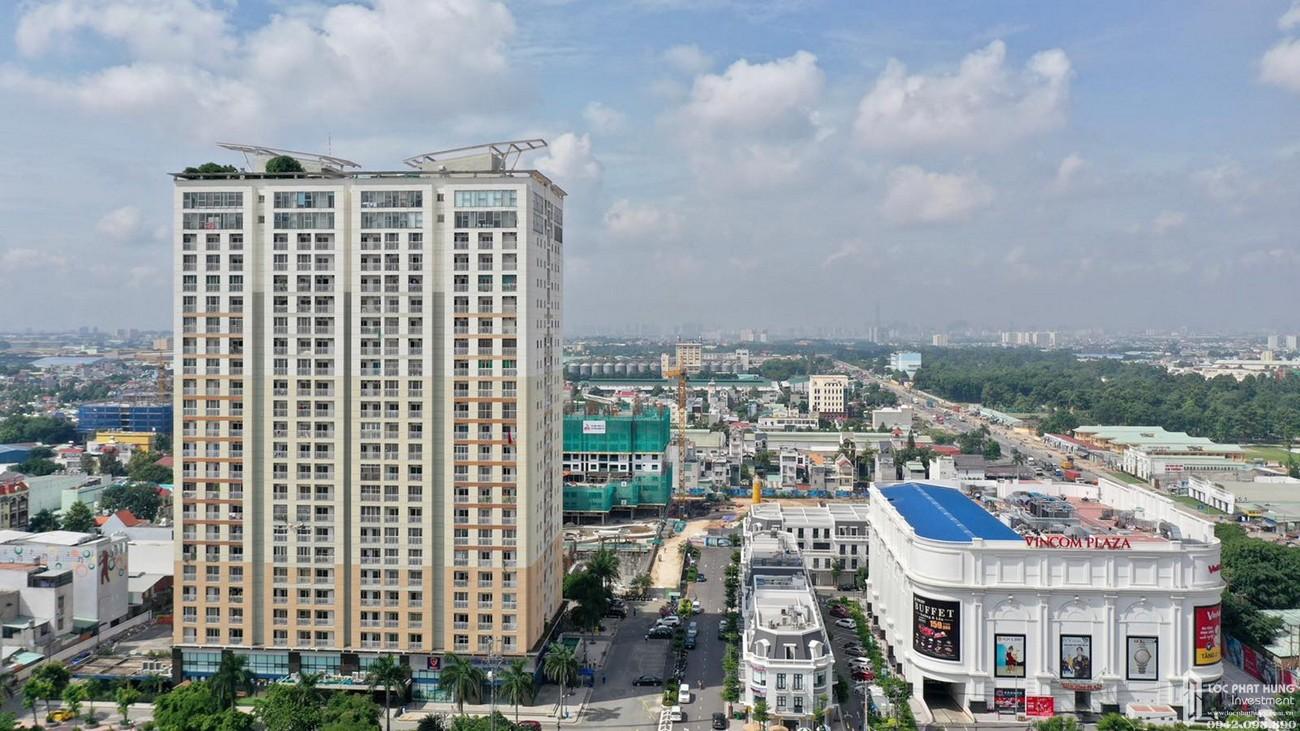 Phối cảnh tổng thể dự án căn hộ chung cư Charm Plaza Dĩ An Đường ĐT743B chủ đầu tư DCT GROUP