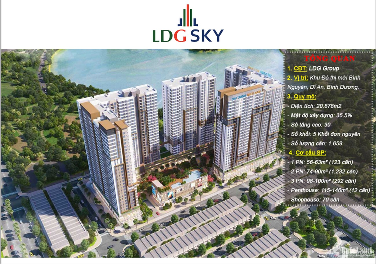 LDG Sky – Dự án căn hộ bên hồ đáng mua nhất 2020