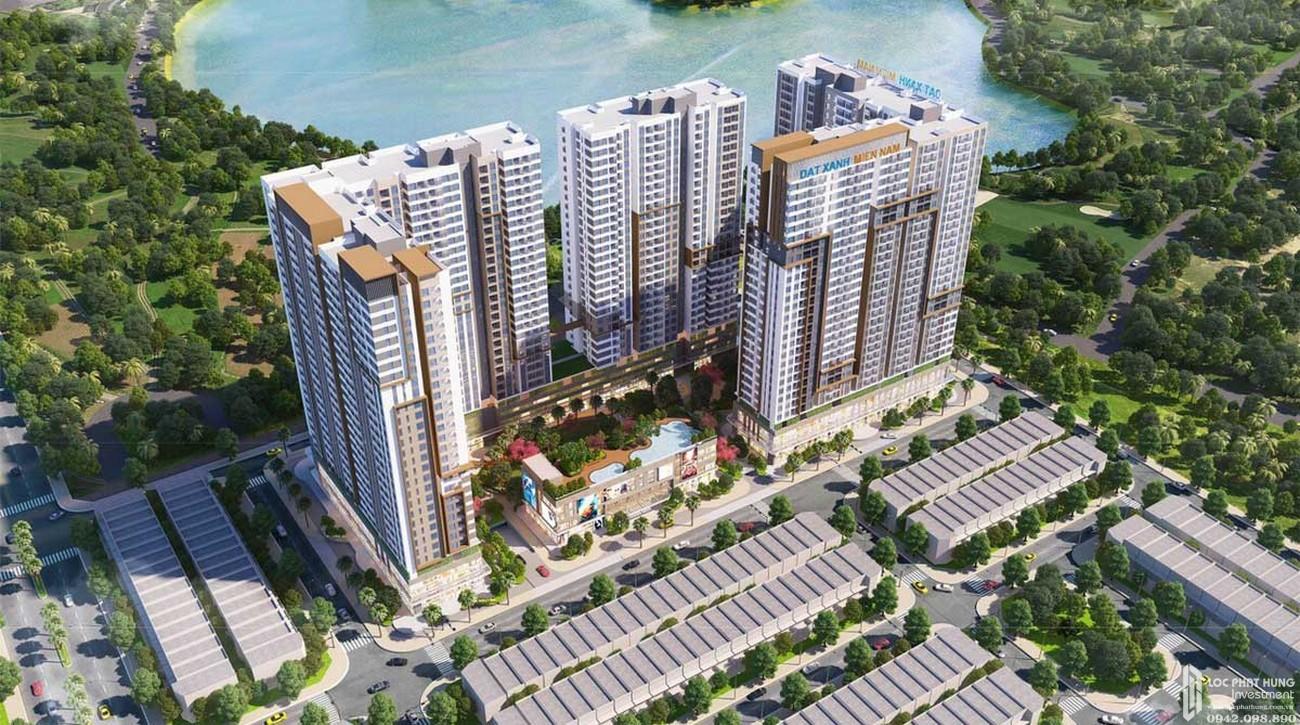 Phối cảnh tổng thể dự án căn hộ chung cư LDG Sky Bình Dương chủ đầu tư LDG Group