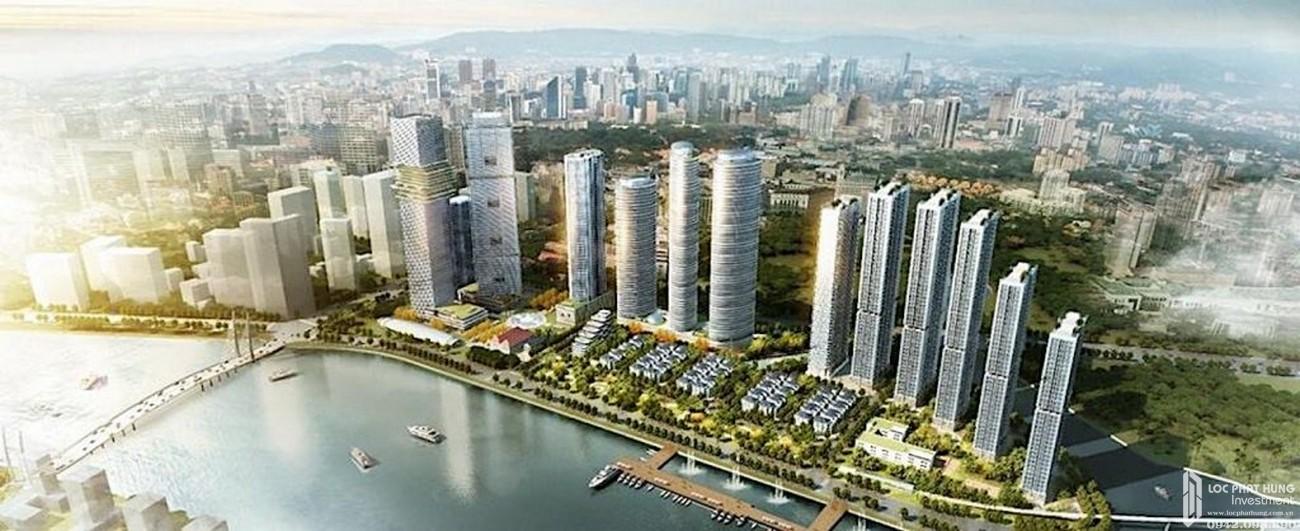 Phối cảnh tổng thể dự án căn hộ chung cư Masteri Marina One Quận 1 chủ đầu tư Masterise Homes