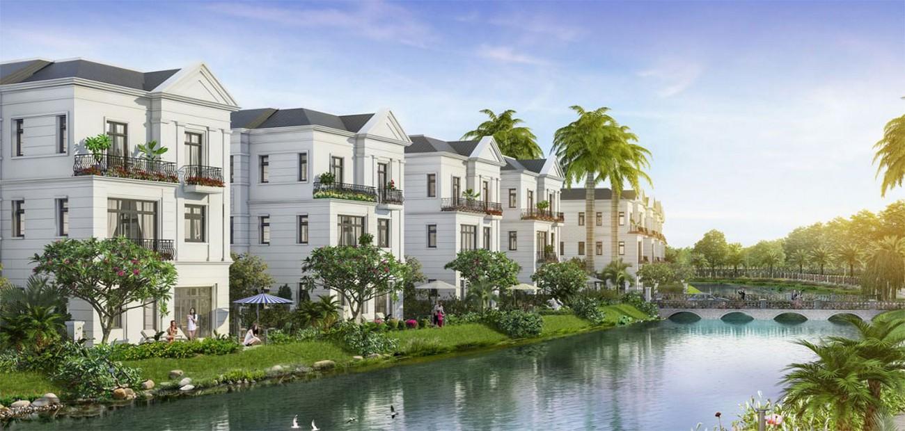 Phối cảnh dự án nhà phố biệt thự Clarita Khang Điền