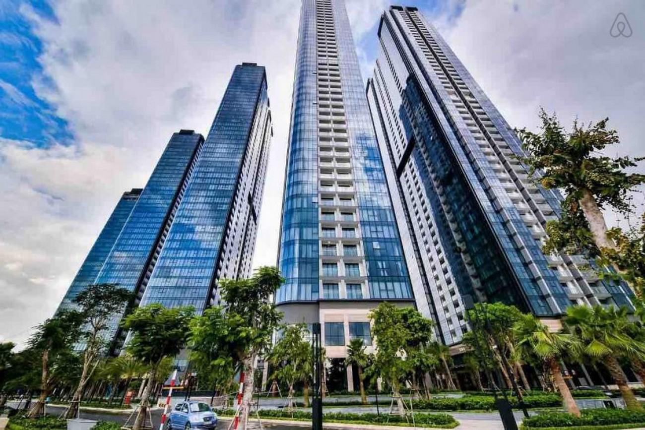 Phối cảnh tổng thể dự án căn hộ Vinhomes Golden River Quận 1 Đường Nguyễn Hữu Cảnh chủ đầu tư Vingroup