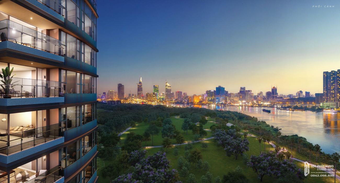Phối cảnh tổng thể dự án căn hộ De Capella Quận 2 Đường Lương Định Của chủ đầu tư Quốc Cường Gia Lai
