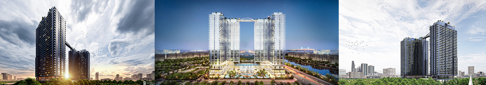 Phối cảnh dự án căn hộ chung cư sunshine horizon quận 4