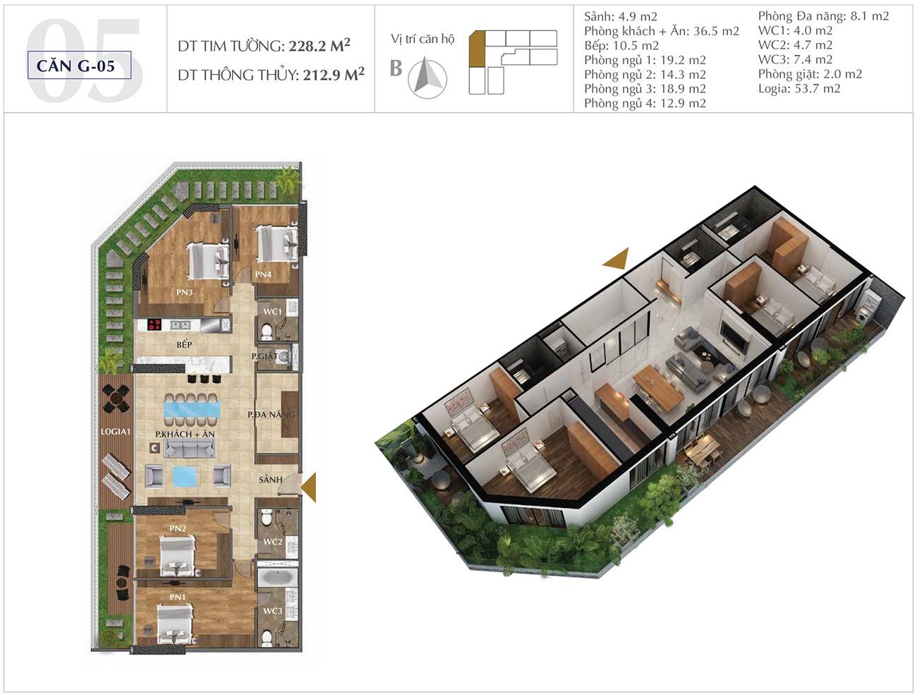Thiết kế dự án căn hộ chung cư Sunshine Golden River Quận Tây Hồ KĐT Ciputra chủ đầu tư Sunshine Group