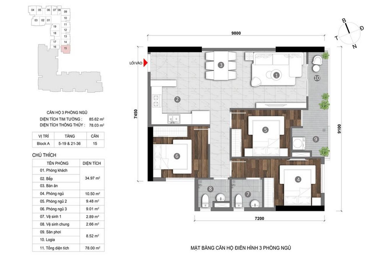 Thiết kế dự án căn hộ chung cư LDG Sky Bình Dương chủ đầu tư LDG Group
