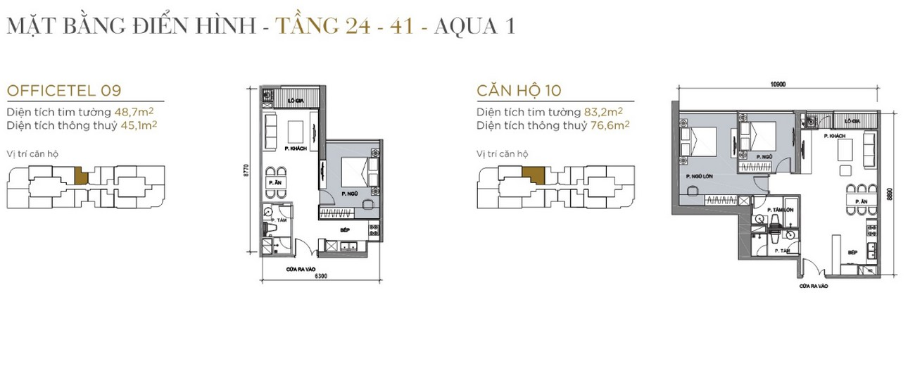 Thiết kế căn hộ The Aqua 1 Vinhomes Golden River Quận 1 Đường Nguyễn Hữu Cảnh chủ đầu tư Vingroup
