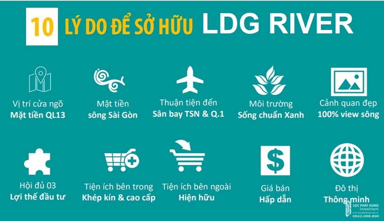 Tiện ích dự án ăn hộ chung cư LDG River quận Thủ Đức