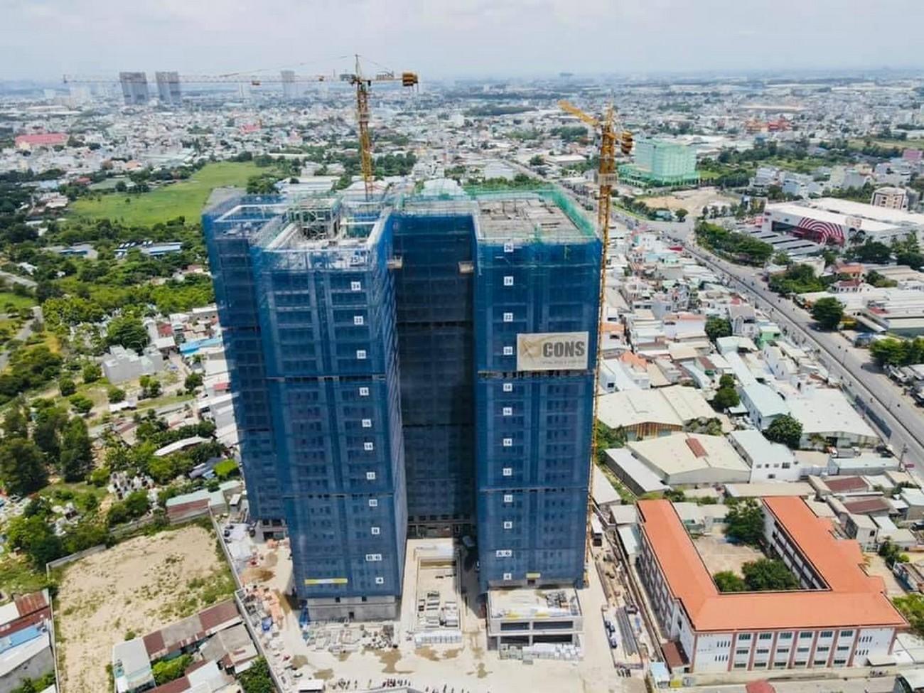Tiến độ dự án Bcons Green View tháng 06/2021