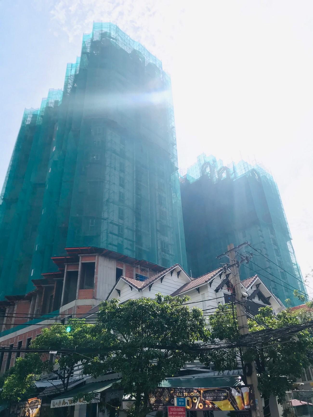 Tiến độ xây dựng dự án căn hộ Asiana Capella Quận 6 15/08/2020