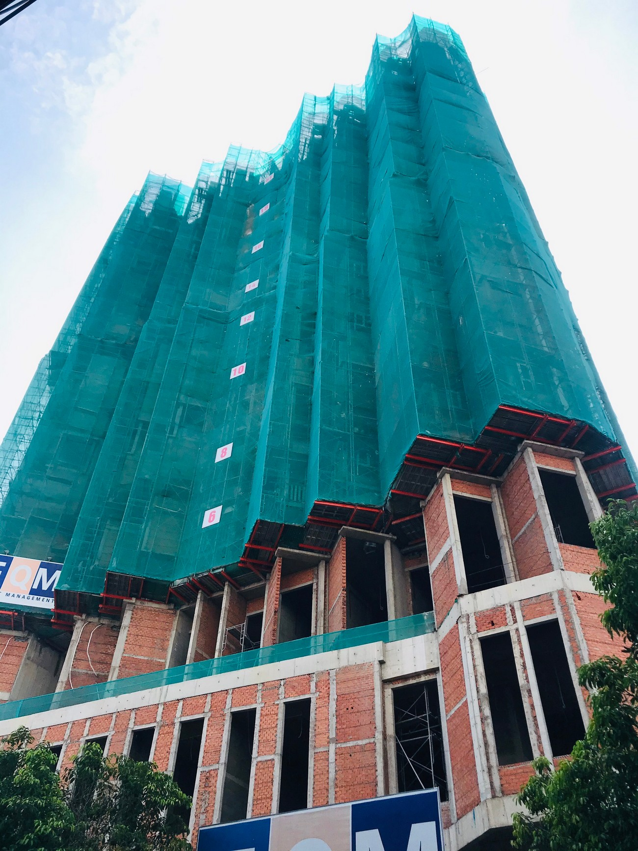 Tiến độ xây dựng căn hộ + Officetel dự án Asiana Capella 15/08/2020 – Nhận ký gửi mua bán + Cho thuê