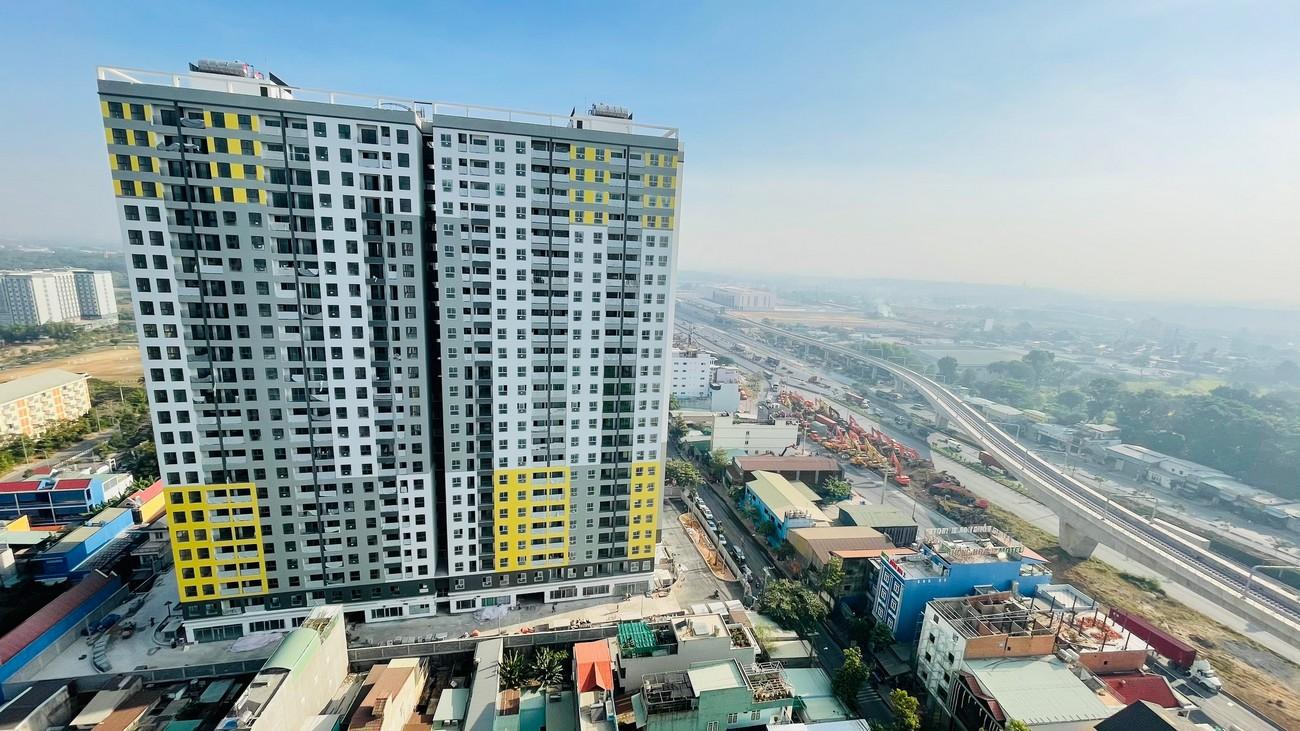 Hình ảnh thực tế dự án Bcons Miền Đông