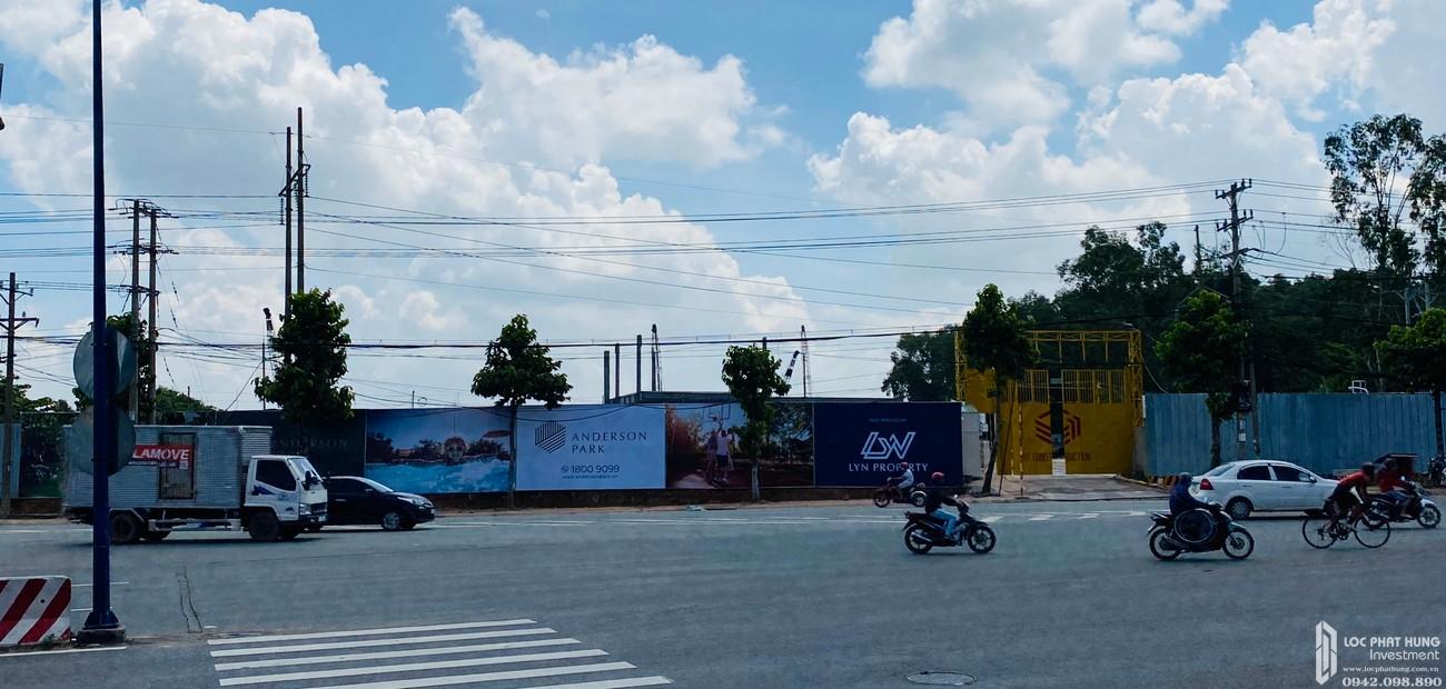 Tiến độ dự án Anderson Park Thuận An Bình Dương chủ đầu tư Quốc Cường Gia Lai - cập nhật tháng 08/2020