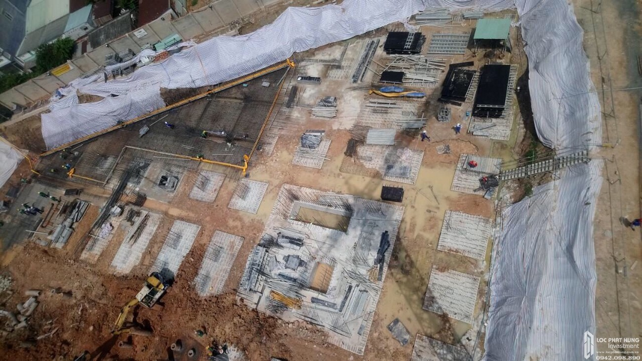 Tiến độ dự án căn hộ chung cư Bcons Green View Dĩ An Bình Dương chủ đầu tư Bcons ngày 04/08/2020