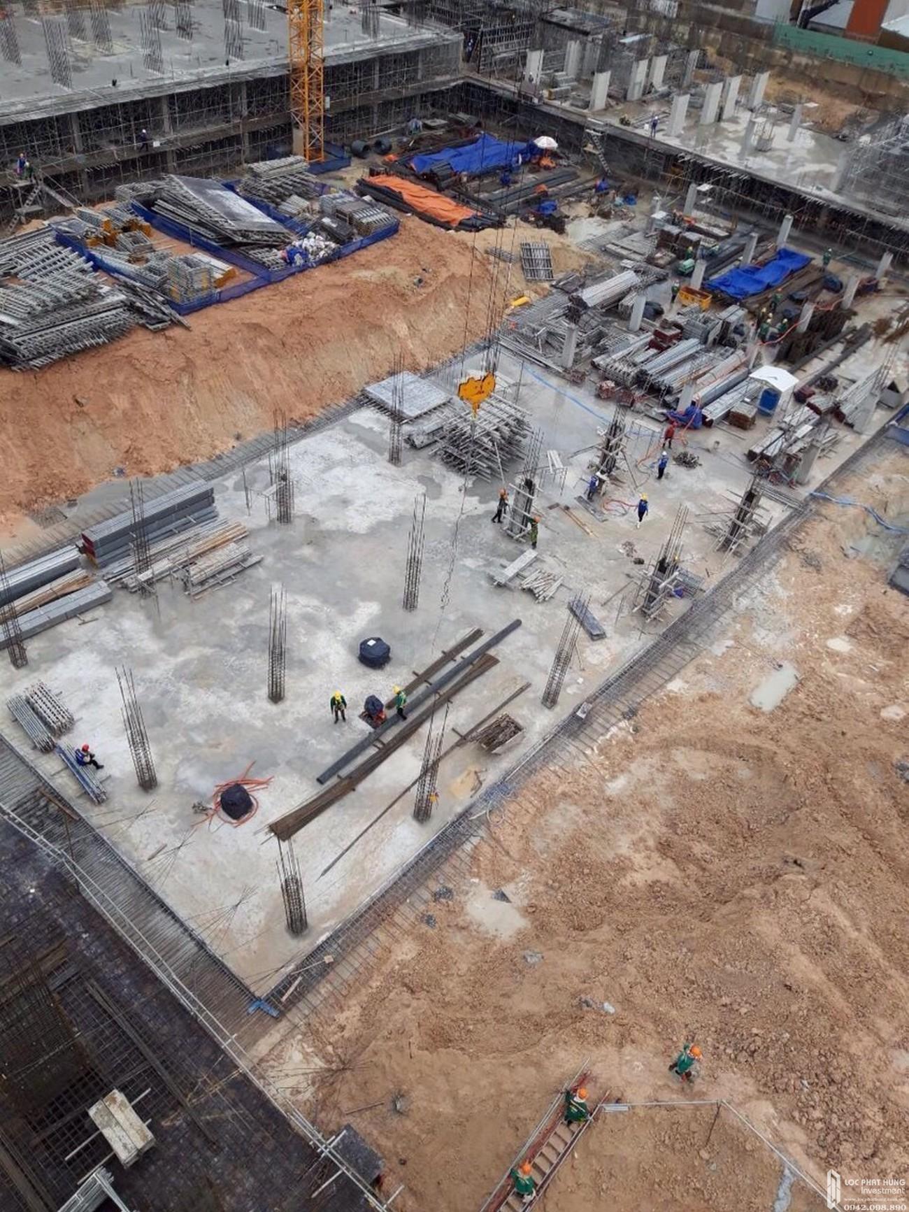 Tiến độ dự án căn hộ chung cư Bcons Garden Bình Dương 14/08/2020 Đường Phạm Hữu Lầu chủ đầu tư Bcons