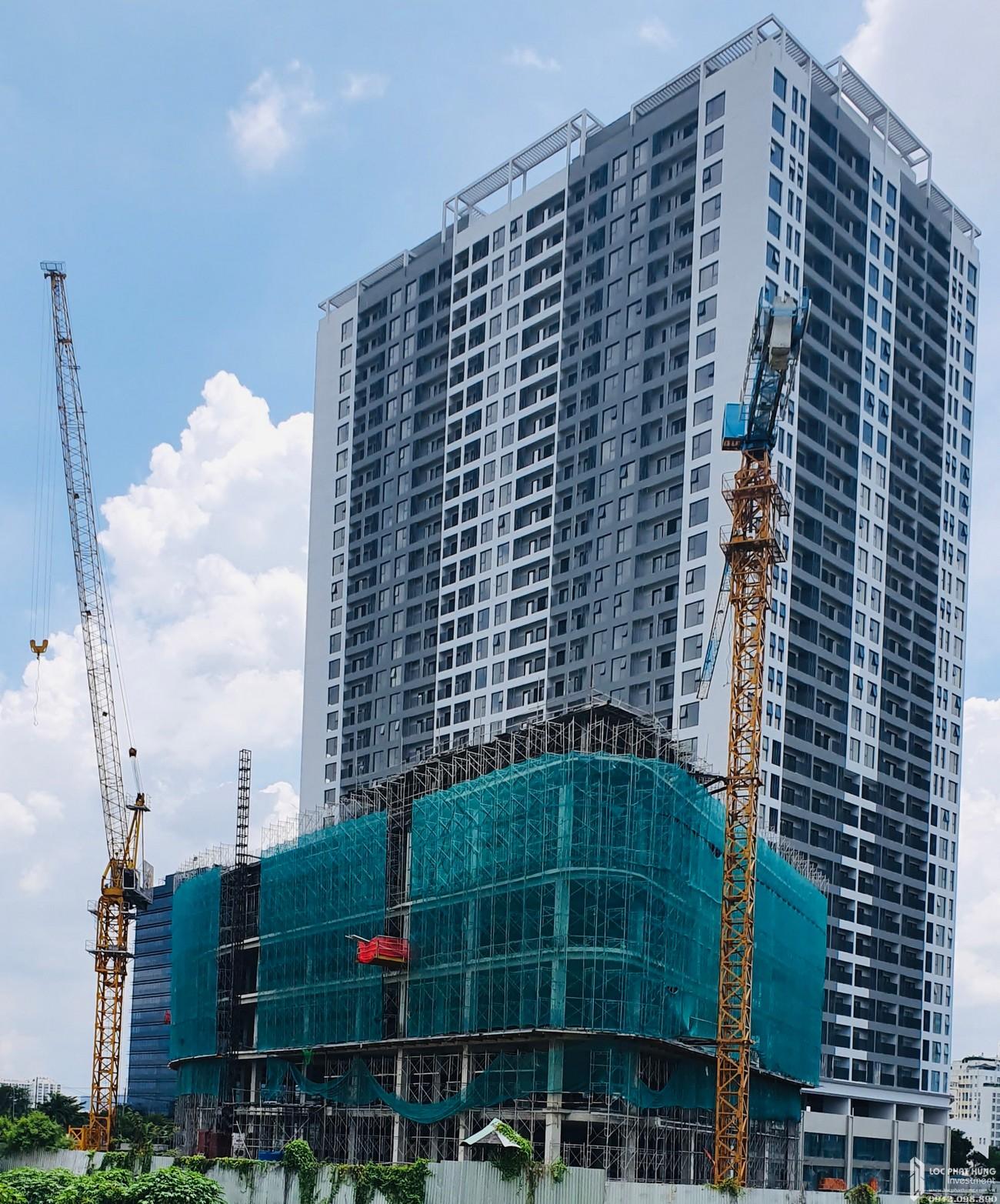 Tiến độ dự án căn hộ chung cư Lavida Plus Quận 7 Đường Nguyễn Văn Linh chủ đầu tư Quốc Cường Gia Lai - cập nhật tháng 08/2020