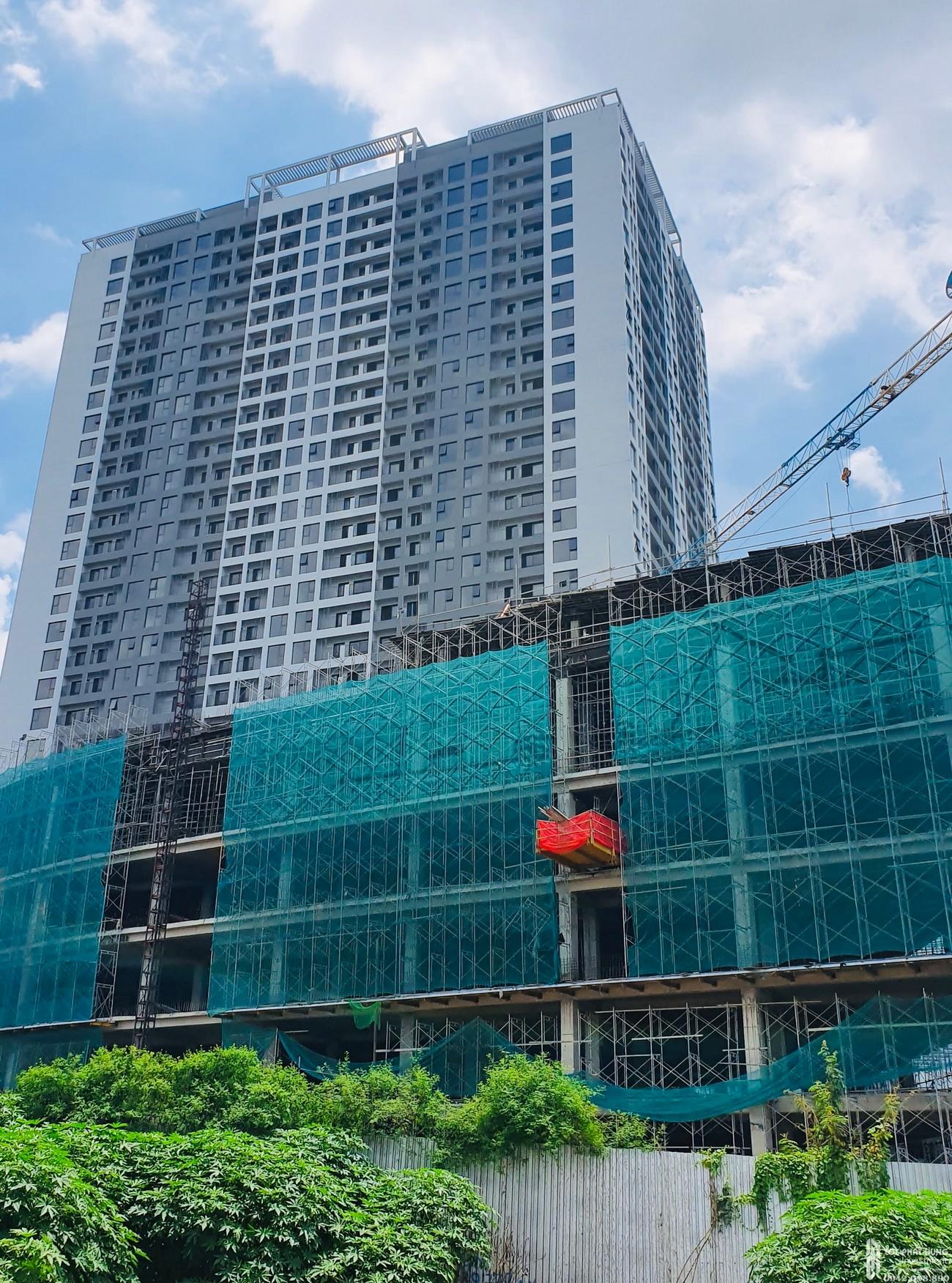 Tiến độ xây dựng dự án căn hộ Lavida Plus tháng 08/2020